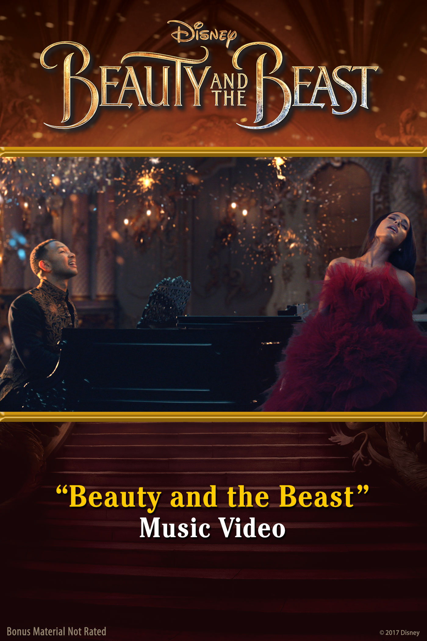 """Beauty and the Beast"" Music Video"