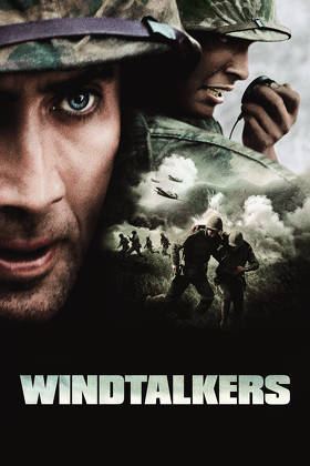 """wind talkers """"windtalkers"""" john woo's ultraviolent paean to the navajo """"code talkers"""" who fought with the marines in world war ii takes his hollywood dream to new heights."""